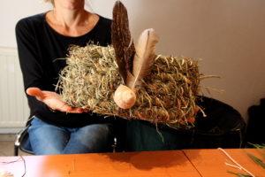 Kräuter und Graskörbe selber binden lernen